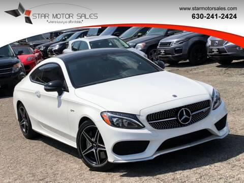 2018 Mercedes-Benz C-Class for sale at Star Motor Sales in Downers Grove IL