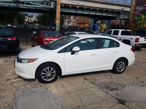 2012 Honda Civic for sale at Key and V Auto Sales in Philadelphia PA