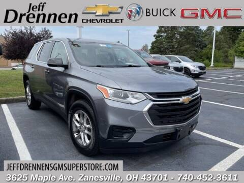 2019 Chevrolet Traverse for sale at Jeff Drennen GM Superstore in Zanesville OH