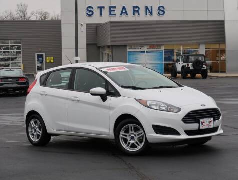 2018 Ford Fiesta for sale at Stearns Ford in Burlington NC