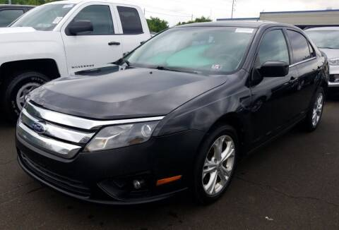 2012 Ford Fusion for sale at Angelo's Auto Sales in Lowellville OH