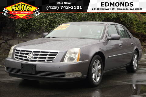 2007 Cadillac DTS for sale at West Coast Auto Works in Edmonds WA