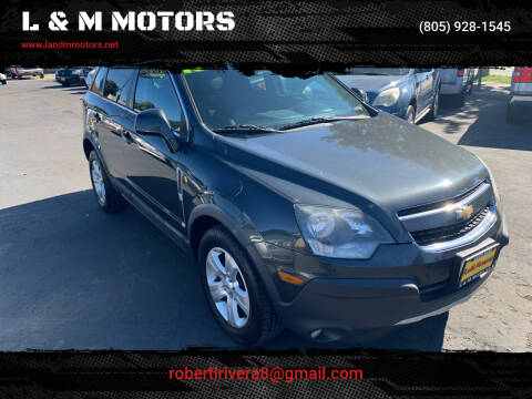 2015 Chevrolet Captiva Sport for sale at L & M MOTORS in Santa Maria CA