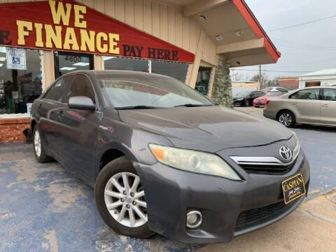 2011 Toyota Camry Hybrid for sale at Caspian Auto Sales in Oklahoma City OK