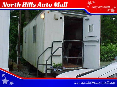 2008 Modular SECURITY OFFICE TRAILER 8X20 for sale at North Hills Auto Mall in Pittsburgh PA