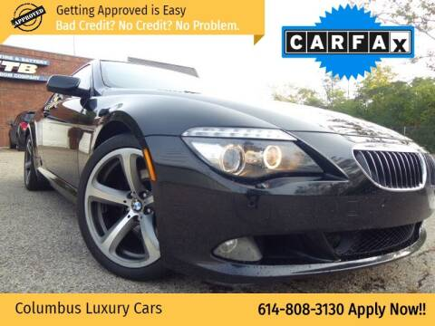 2008 BMW 6 Series for sale at Columbus Luxury Cars in Columbus OH
