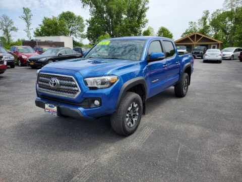 2017 Toyota Tacoma for sale at Excellent Autos in Amsterdam NY
