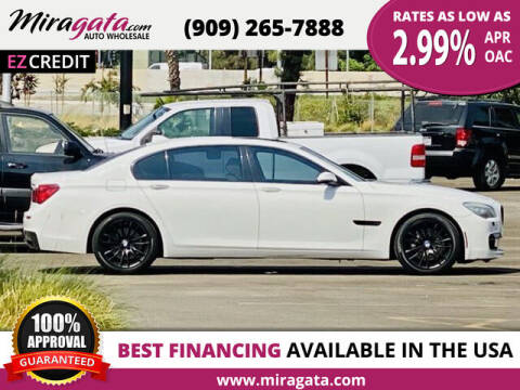 2013 BMW 7 Series for sale at Miragata Auto in Bloomington CA
