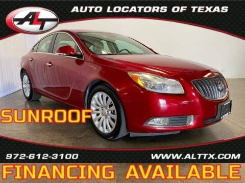 2013 Buick Regal for sale at AUTO LOCATORS OF TEXAS in Plano TX