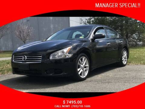 2011 Nissan Maxima for sale at SEIZED LUXURY VEHICLES LLC in Sterling VA