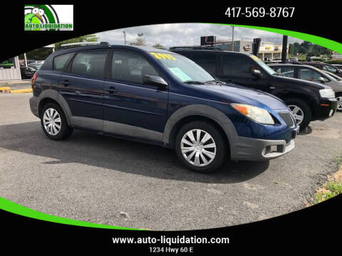 2005 Pontiac Vibe for sale at Auto Liquidation in Republic MO
