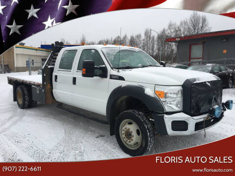 2012 Ford F-550 Super Duty for sale at FLORIS AUTO SALES in Anchorage AK