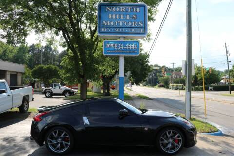 2015 Nissan 370Z for sale at North Hills Motors in Raleigh NC