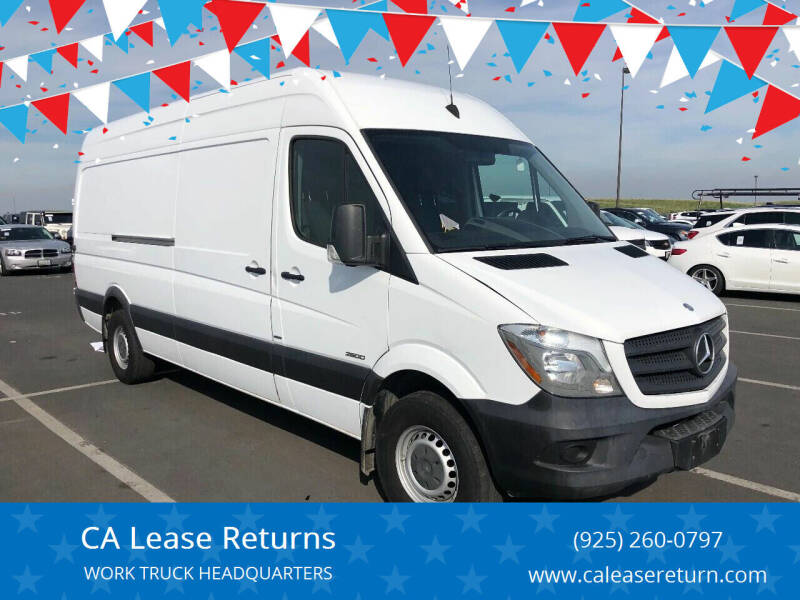 2015 Mercedes-Benz Sprinter Cargo for sale at CA Lease Returns in Livermore CA