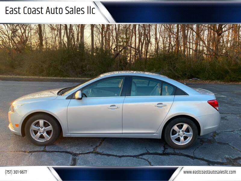 2011 Chevrolet Cruze for sale at East Coast Auto Sales llc in Virginia Beach VA