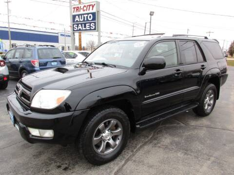 2004 Toyota 4Runner for sale at TRI CITY AUTO SALES LLC in Menasha WI
