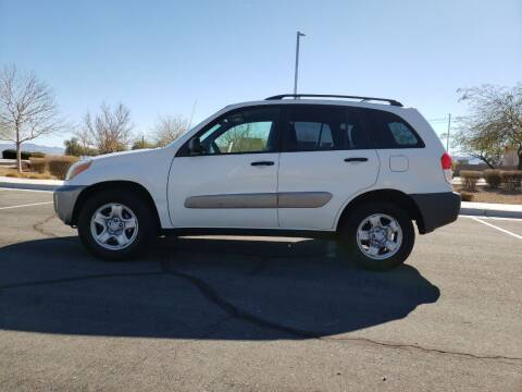 2002 Toyota RAV4 for sale at RAFIKI MOTORS in Henderson NV