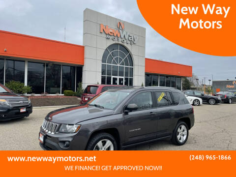 2017 Jeep Compass for sale at New Way Motors in Ferndale MI