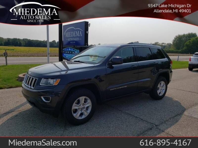 2014 Jeep Grand Cherokee for sale at Miedema Auto Sales in Allendale MI