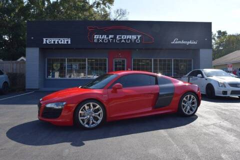 2012 Audi R8 for sale at Gulf Coast Exotic Auto in Biloxi MS