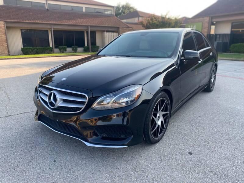 2014 Mercedes-Benz E-Class for sale at Big Time Motors in Arlington TX