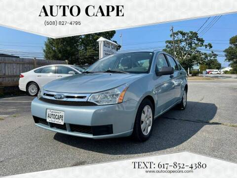 2008 Ford Focus for sale at Auto Cape in Hyannis MA