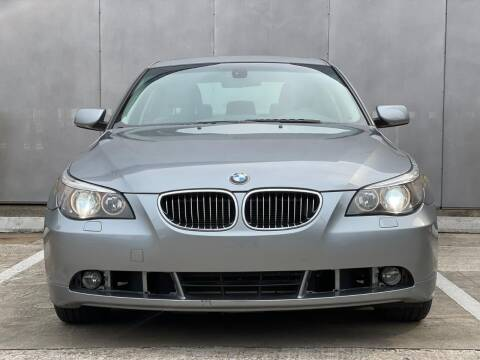 2007 BMW 5 Series for sale at Delta Auto Alliance in Houston TX