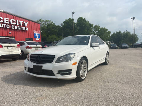 2013 Mercedes-Benz C-Class for sale at Space City Auto Center in Houston TX