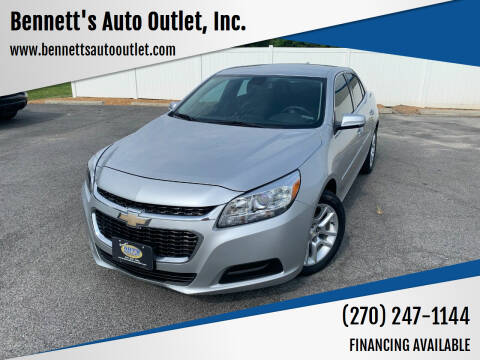 2016 Chevrolet Malibu Limited for sale at Bennett's Auto Outlet, Inc. in Mayfield KY