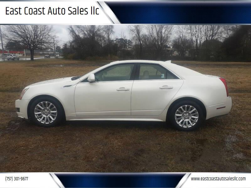 2010 Cadillac CTS for sale at East Coast Auto Sales llc in Virginia Beach VA