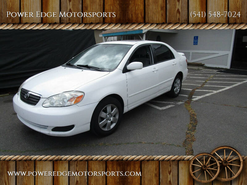2008 Toyota Corolla for sale at Power Edge Motorsports in Redmond OR