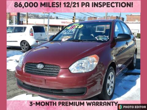 2009 Hyundai Accent for sale at 2010 Auto Sales in Glassport PA