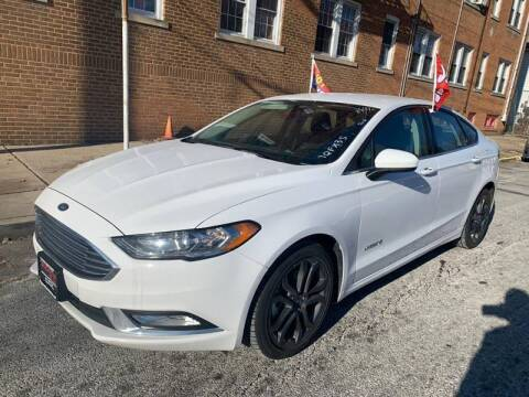 2018 Ford Fusion Hybrid for sale at Buy Here Pay Here Auto Sales in Newark NJ