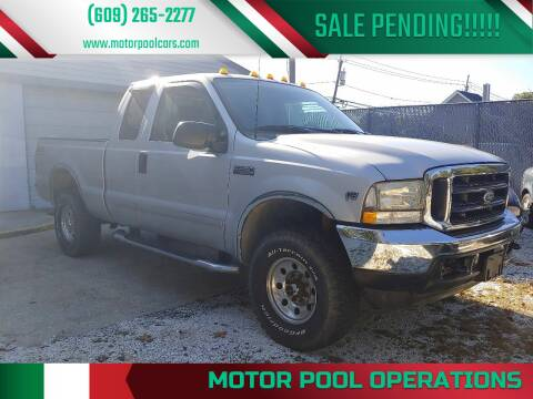 2002 Ford F-250 Super Duty for sale at Motor Pool Operations in Hainesport NJ