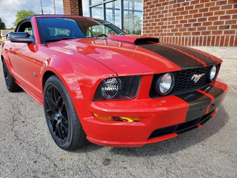 2008 Ford Mustang for sale at Auto Pros in Youngstown OH