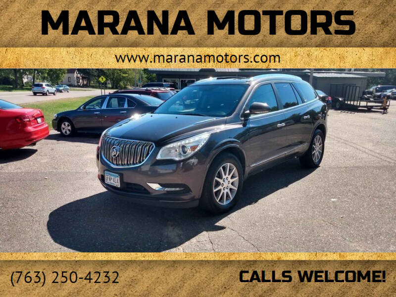 2016 Buick Enclave for sale at Marana Motors in Princeton MN