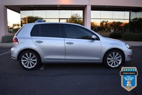 2013 Volkswagen Golf for sale at GOLDIES MOTORS in Phoenix AZ