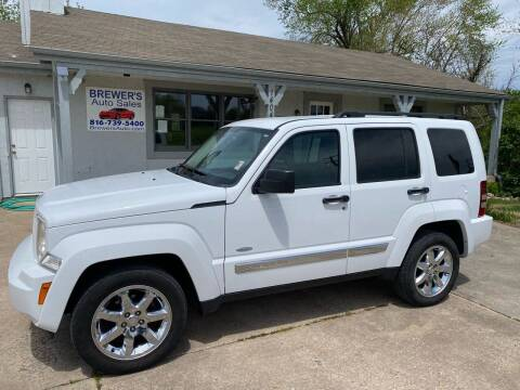 2012 Jeep Liberty for sale at Brewer's Auto Sales in Greenwood MO