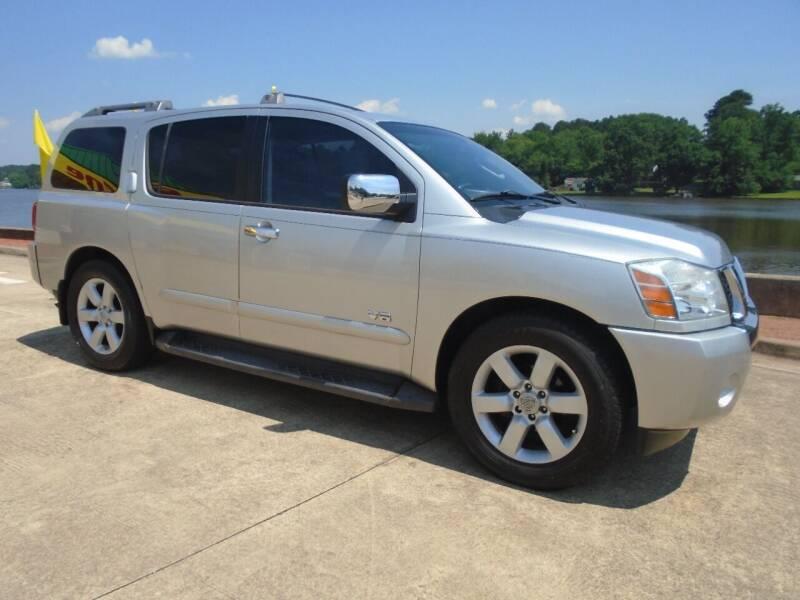2006 Nissan Armada for sale at Lake Carroll Auto Sales in Carrollton GA