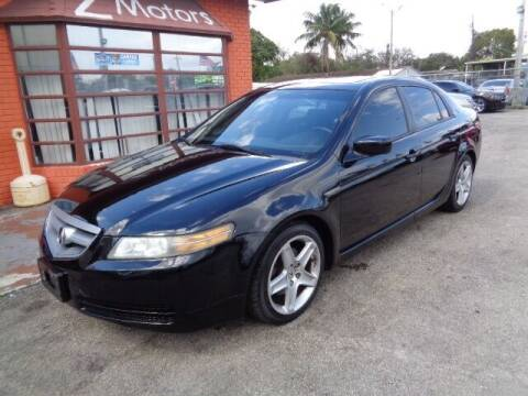 2006 Acura TL for sale at Z MOTORS INC in Hollywood FL