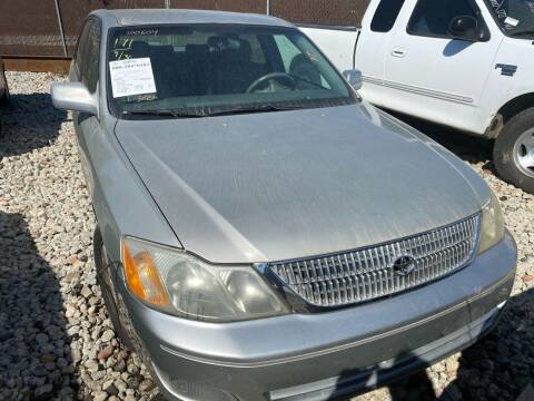 2000 Toyota Avalon for sale at Encore Auto Parts & Recycling in Jefferson GA