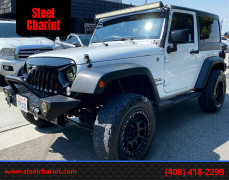 2014 Jeep Wrangler for sale at Steel Chariot in San Jose CA