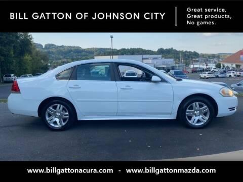 2012 Chevrolet Impala for sale at Bill Gatton Used Cars - BILL GATTON ACURA MAZDA in Johnson City TN