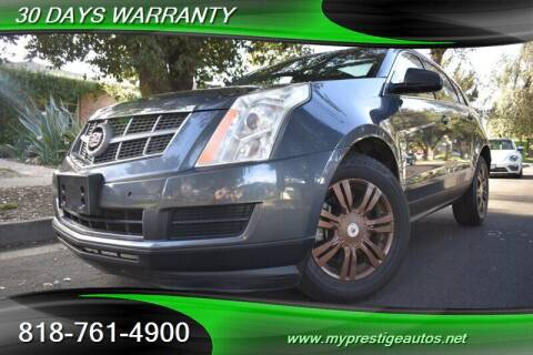 2011 Cadillac SRX for sale at Prestige Auto Sports Inc in North Hollywood CA