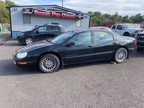 2001 Chrysler Concorde for sale at Sisson Pre-Owned in Uniontown PA