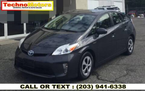 2013 Toyota Prius for sale at Techno Motors in Danbury CT