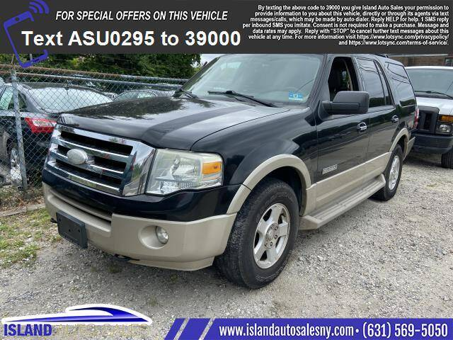 2007 Ford Expedition for sale at Island Auto Sales in E.Patchogue NY