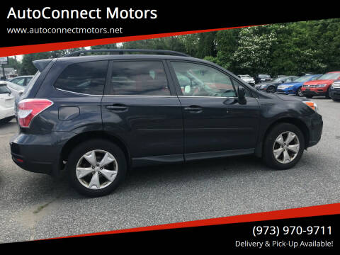 2016 Subaru Forester for sale at AutoConnect Motors in Kenvil NJ