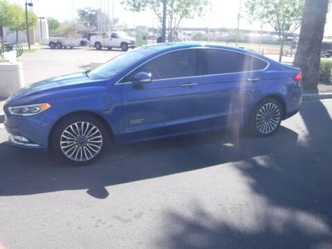 2017 Ford Fusion Energi for sale at J & E Auto Sales in Phoenix AZ