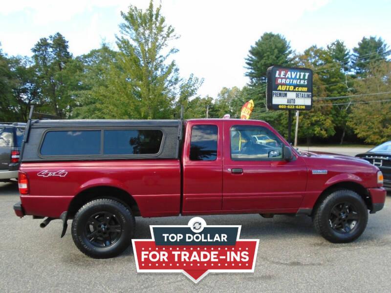 2006 Ford Ranger for sale at Leavitt Brothers Auto in Hooksett NH